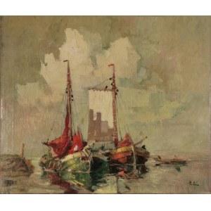 Rudolf PRIEBE (1889-1956), Łodzie