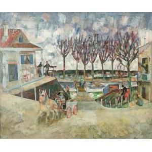 Joseph PRESSMANE (1904-1967), Nabrzeże, 1942