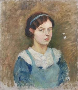 Anna MAŚLAKIEWICZ-BRZOZOWSKA (1912-1986), Wnętrze krakowskiej kamienicy, 1935