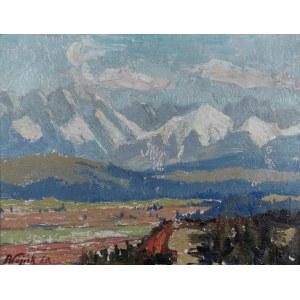 Franciszek WÓJCIK (1903-1984), Widok na Tatry, 1960