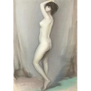 Józef KIDOŃ (1890-1968), Akt stojącej kobiety, 1928