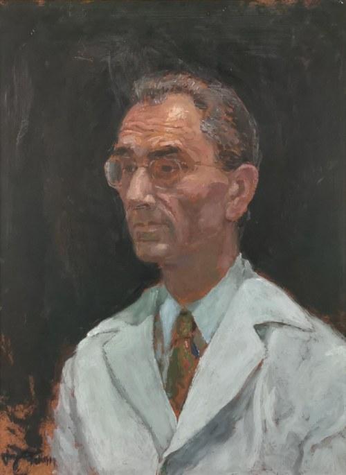 Jerzy Adam BRANDHUBER (1897-1981), Portret Włodzimierza Wanica