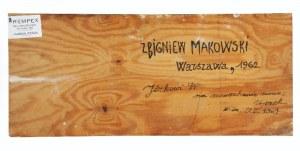 Zbigniew MAKOWSKI (ur. 1930), Bez tytułu, 1962