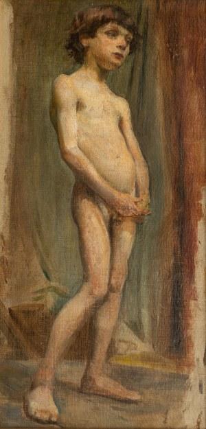 Stanisław Wyspiański (1869 Kraków - 1907 tamże), Akt chłopca, 1894