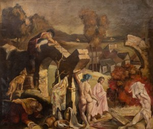 Bolesław Cybis (1895 Wilno - 1957 Trenton), Zuzanna w kąpieli, 1925 r.