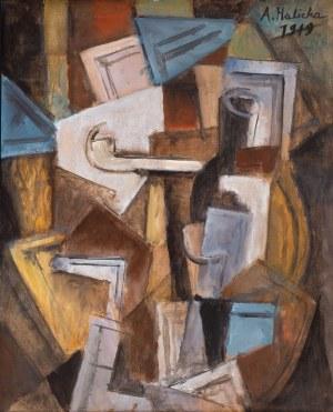 Alicja Halicka (Kraków 1894 - Paryż 1975), Kompozycja kubistyczna z fajką