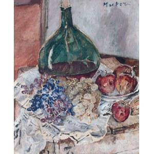 Mela Muter (1876 Warszawa - 1967 Paryż), Martwa natura z zieloną butlą