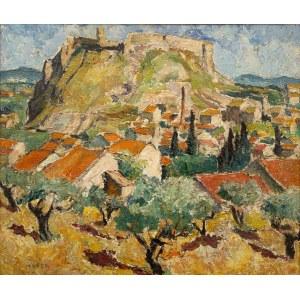 Mela Muter (1876 Warszawa - 1967 Paryż), Avignion – Fort Świętego Andrzeja w Villeneuve-lès- Avignon