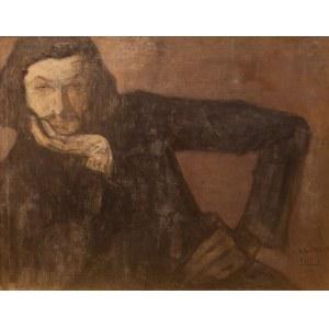 Leopold Gottlieb (1883 Drohobycz - 1934 Paryż), Portret mężczyzny, ok. 1905-1910