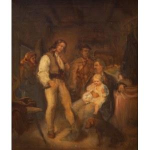 Aleksander Kotsis (1836 Ludwinów, k.Krakowa – 1877 Podgórze, k.Krakowa), W gościnie u górali