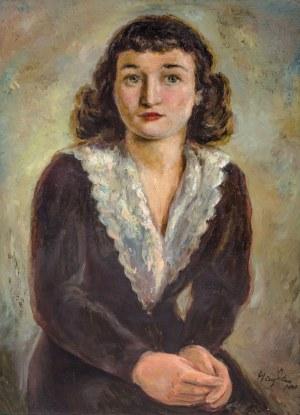 Henryk Hayden (1883 Warszawa - 1970 Paryż), Brunetka, 1931 r.