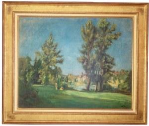 Henryk Hayden (1883 Warszawa - 1970 Paryż), W parku, 1931 r.