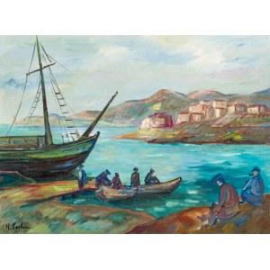 Henryk Epstein (1891 Łódź - 1944 Auschwitz), Powrót rybaków, około 1927-1930