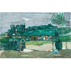 Joseph Pressmane (1904 Beresteczko- 1967 Paryż), Wioska