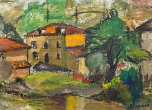 Jerzy Ascher (1884 Warszawa - 1943 Auschwitz), Pejzaż
