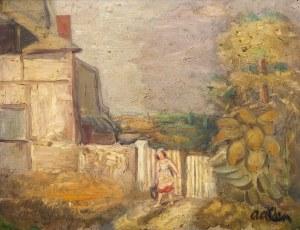 Michel Adlen (1898 Łuck – 1980 Paryż), Okolice Honfleur, 1929 r.,