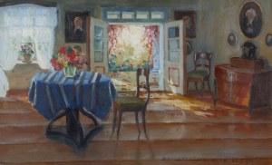 Bronisława Rychter-Janowska (1868 Kraków - 1953 tamże), W saloniku, 1943 r.
