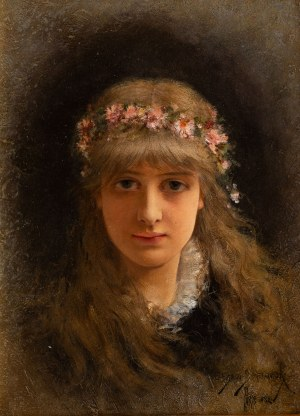 Emile Eisman-Semenowsky (1857 Polska – 1911 Paryż ?), Wiosna