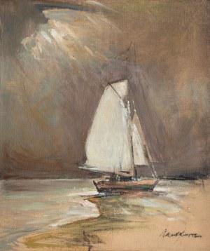 Marian Mokwa (1889 Malary - 1987 Sopot), Żaglówka
