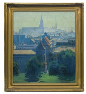 Terlecki Alfred, WIDOK KRAKOWA, 1936