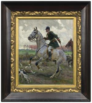 Rozwadowski Zygmunt, NA POLOWANIU PAR FORCE, 1907