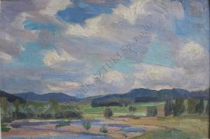 Jan Wojnarski (1879-1937), Rzeka Raba