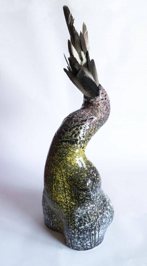 Aneta Śliwa, Rajski Ptak - Czarna gołębica, 2020