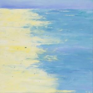 Yuliya Stratovich, Summer landscape, 2020
