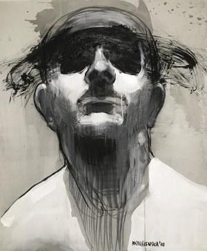 Aleksandra Modzelewska, XXI z cyklu Maska czy twarz, 2020