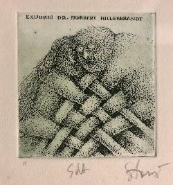 Stasys Eidrigevičius, Exlibris dr. Norbert Hillerbrandt