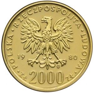 2000 złotych 1980, XIII Zimowe Igrzyska Olimpijskie Lake Placid