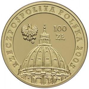 100 złotych 2005, Jan Paweł II
