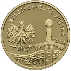 200 złotych 2006, Jeździec Piastowski