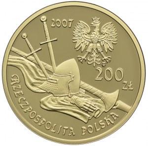 200 złotych 2007, Rycerz Ciężkozbrojny - XV wiek