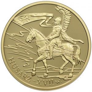 200 złotych 2009, Husarz - XVII wiek
