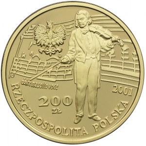 200 złotych 2001, Konkurs Im. Henryka Wieniawskiego