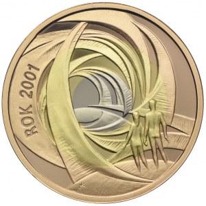 200 złotych 2001, Rok 2001