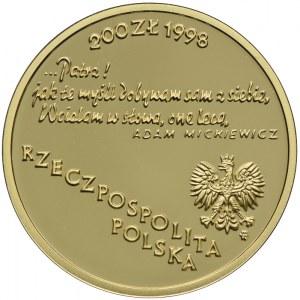 200 złotych 1998, Adam Mickiewicz