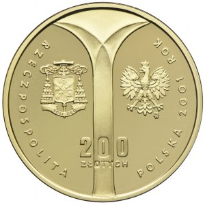 200 złotych 2001, Kardynał Wyszyński