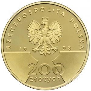 200 złotych 1998, Jan Paweł II - XX Lat Pontyfikatu