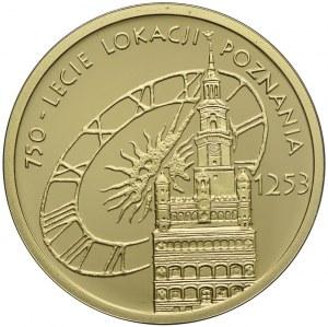 100 złotych 2003, Lokacja Poznania