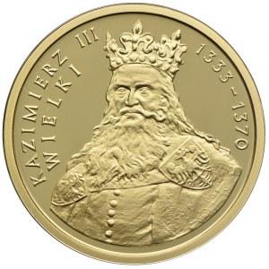 100 złotych 2002, Kazimierz III Wielki