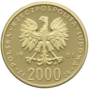 2000 złotych 1981, Władysław I Herman