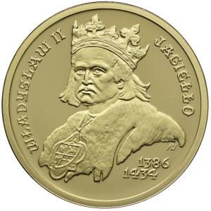 100 złotych 2002, Władysław II Jagiełło