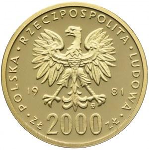 2000 złotych 1980, Kazimierz I Odnowiciel