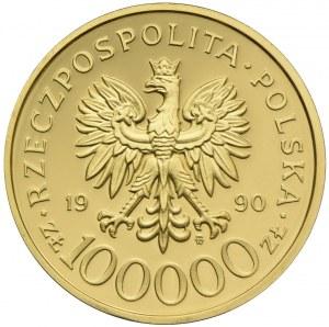 100000 złotych 1990, Solidarność 1980 - 1990