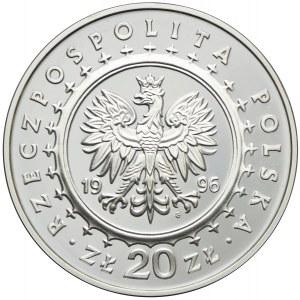 20 złotych 1996, Zamek w Lidzbarku Warmińskim