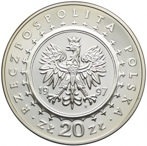 20 złotych 1997, Zamek w Pieskowej Skale