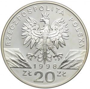 20 złotych 1998, Ropucha Paskówka