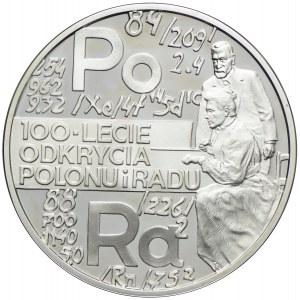 20 złotych 1998, 100 Lat Odkrycia Polonu i Radu